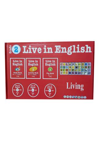 Live in English Grade 2 İngilizce Eğitim Seti