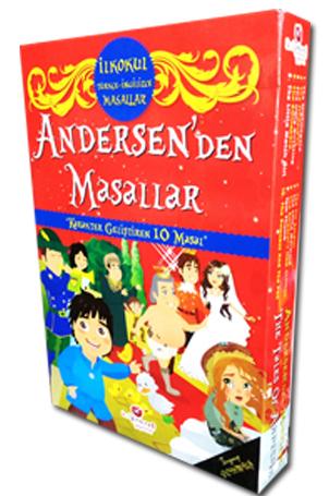İlkokul Türkçe İngilizce Andersen'den Masallar (Karakter Geliştiren 10 Masal)