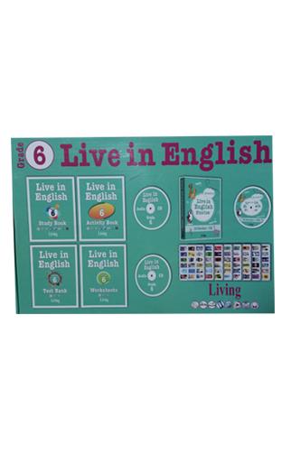 Live in English Grade 6 İngilizce Eğitim Seti
