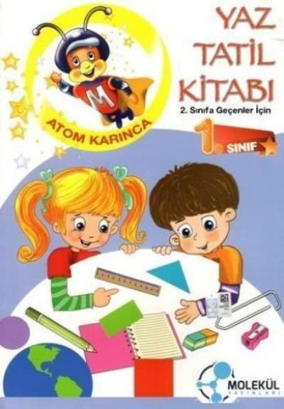 Yaz Tatil Kitabı 1.Sınıf  (2.Sınıfa Geçenler İçin)
