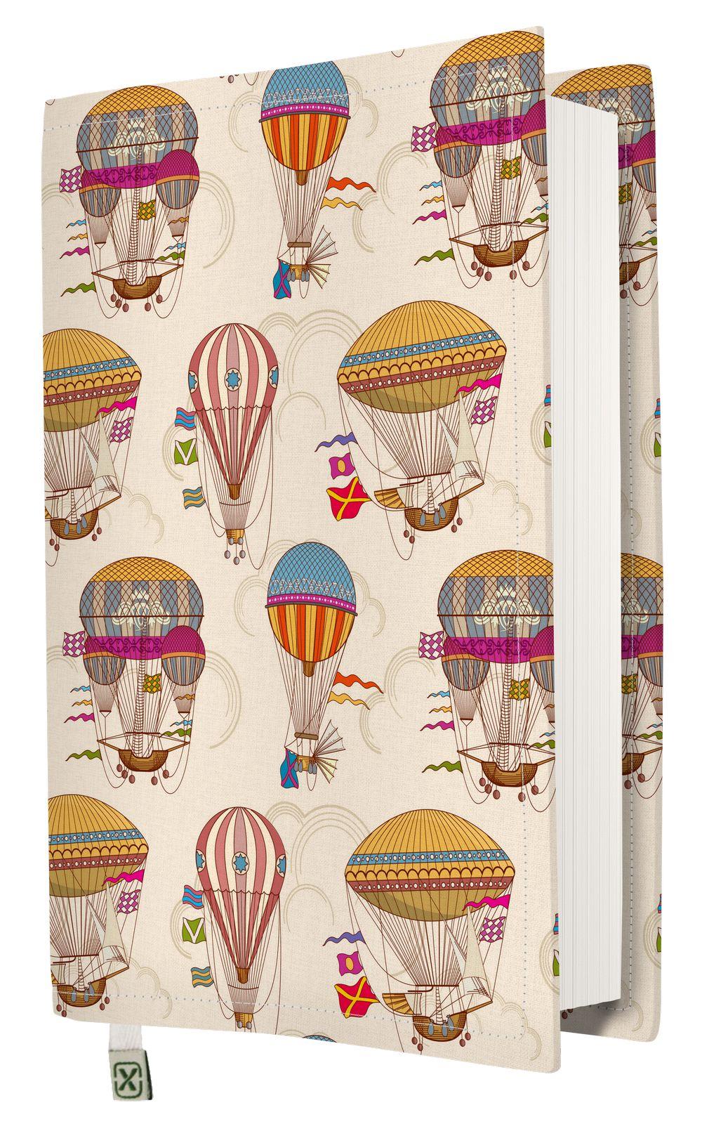 Kapax Kitap Kılıfı - Balonlar - M - 31x21cm