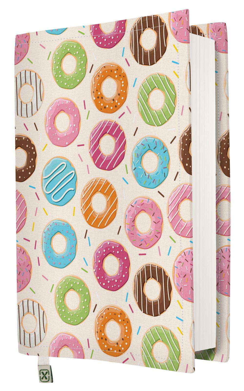 Kapax Kitap Kılıfı - Donut - M - 31x21cm
