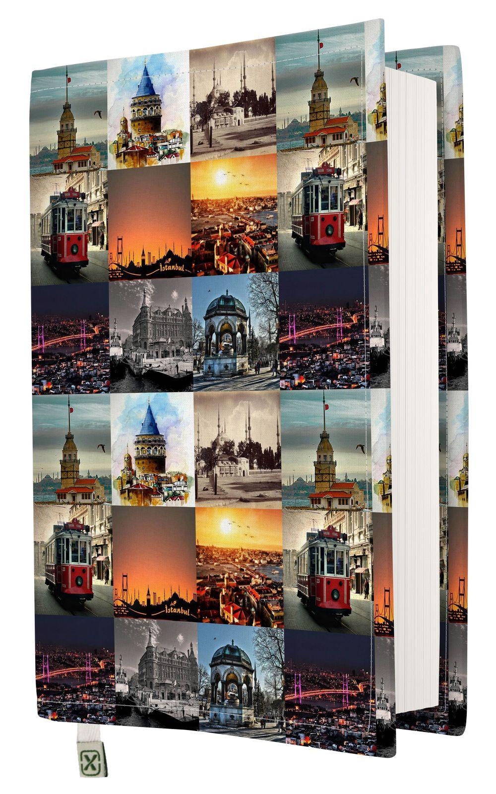 Kapax Kitap Kılıfı - İstanbul - M - 31x21cm