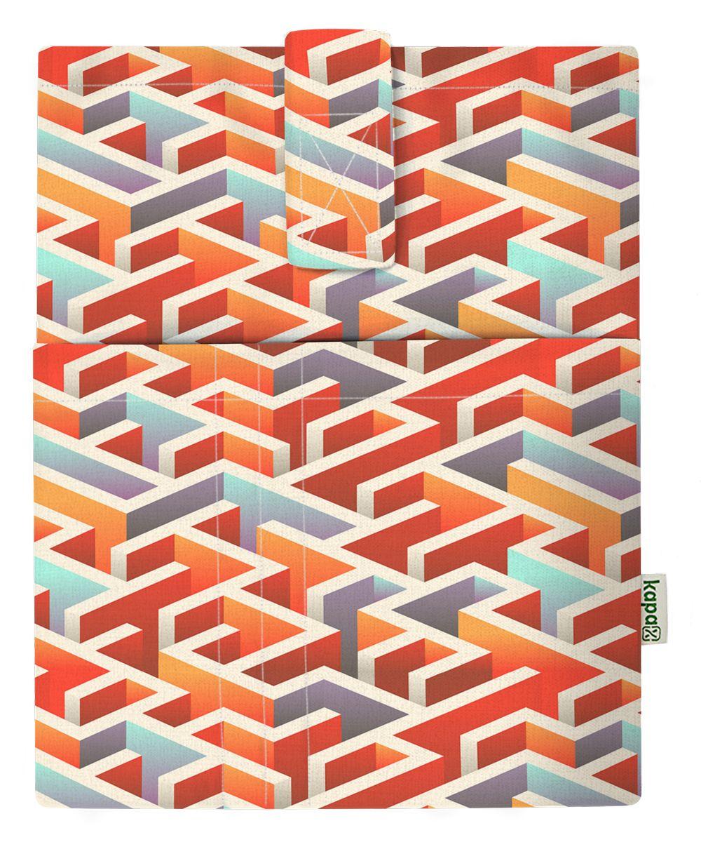 Kapax Mona Kitap Kılıfı - Labirent 3D - 161