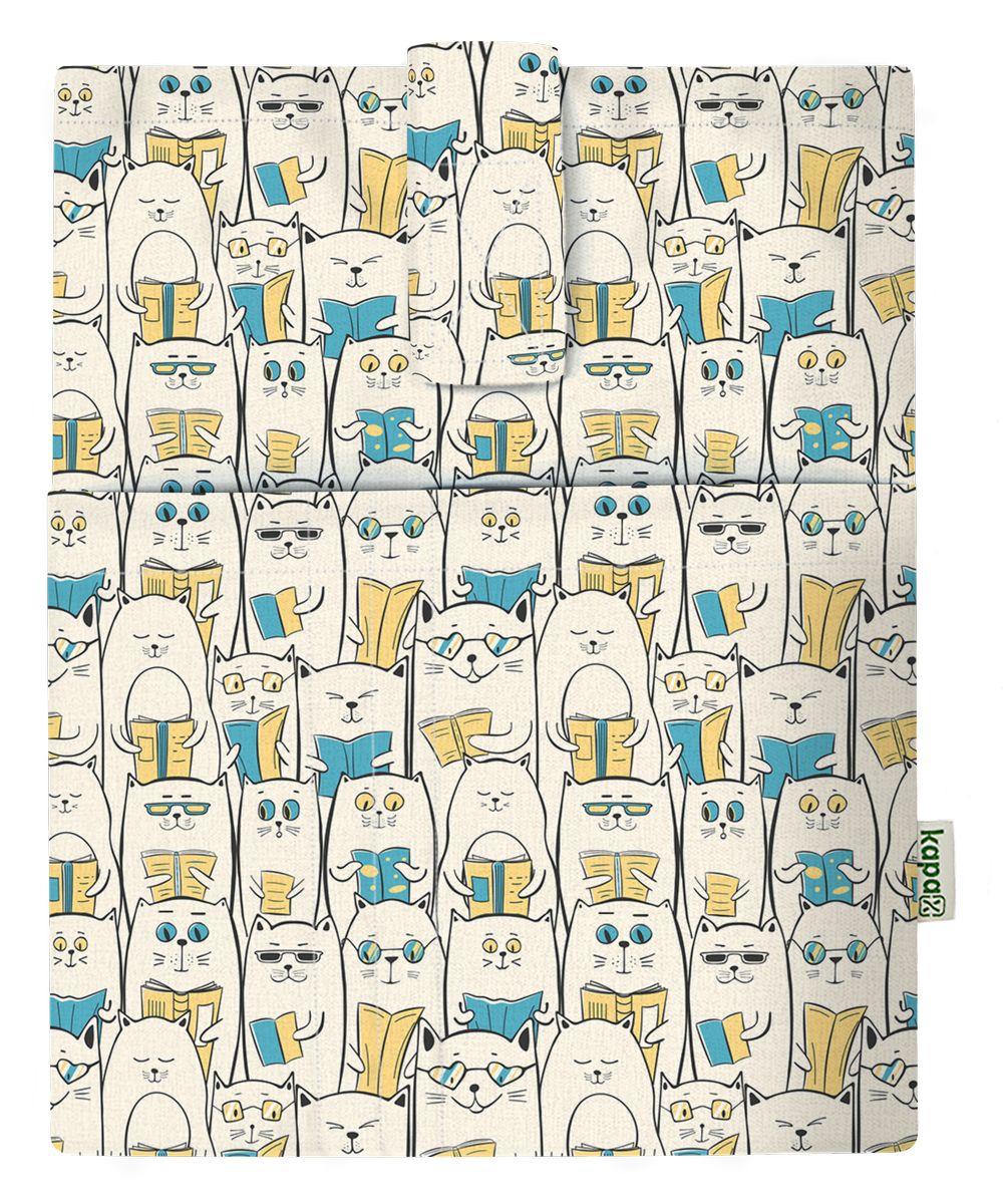 Kapax Mona Kitap Kılıfı - Okuyan Kedi - 158