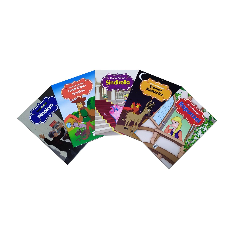 Renkli Dünya Çocuk Masalları Seti 2 - 5 Kitap