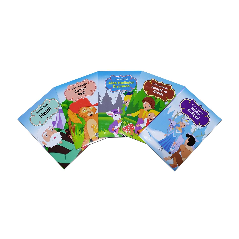 Renkli Dünya Çocuk Masalları Seti 3 - 5 Kitap