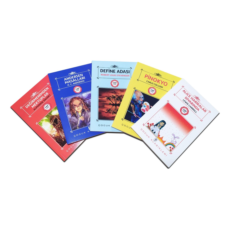 Çocuklar İçin Dünya Klasikleri Seti 2 - 5 Kitap 9-12 Yaş