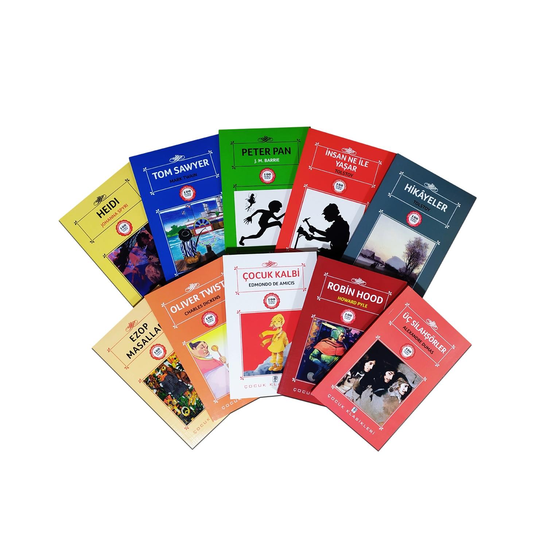 Çocuklar İçin Dünya Klasikleri Seti - 10 Kitap 9-12 Yaş
