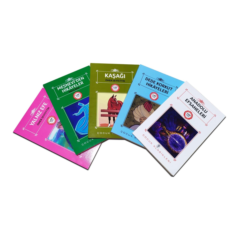 Çocuklar İçin Türk Klasikleri Seti 4 - 5 Kitap 9-12 Yaş