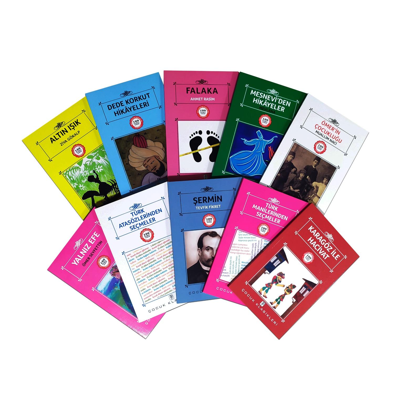 Çocuklar İçin Türk Klasikleri Seti  - 10 Kitap 9-12 Yaş