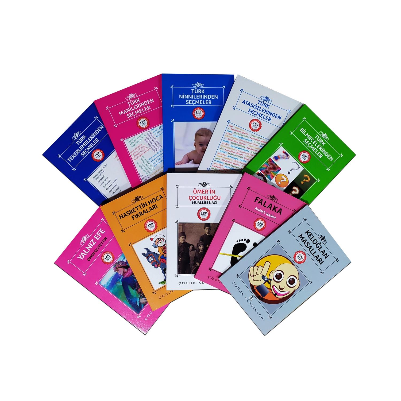 Çocuklar İçin Türk Klasikleri Seti 3 - 10 Kitap 9-12 Yaş