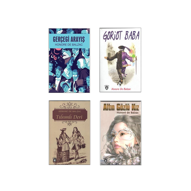 Balzac Dünya Klasikleri Seti - 4 Kitap