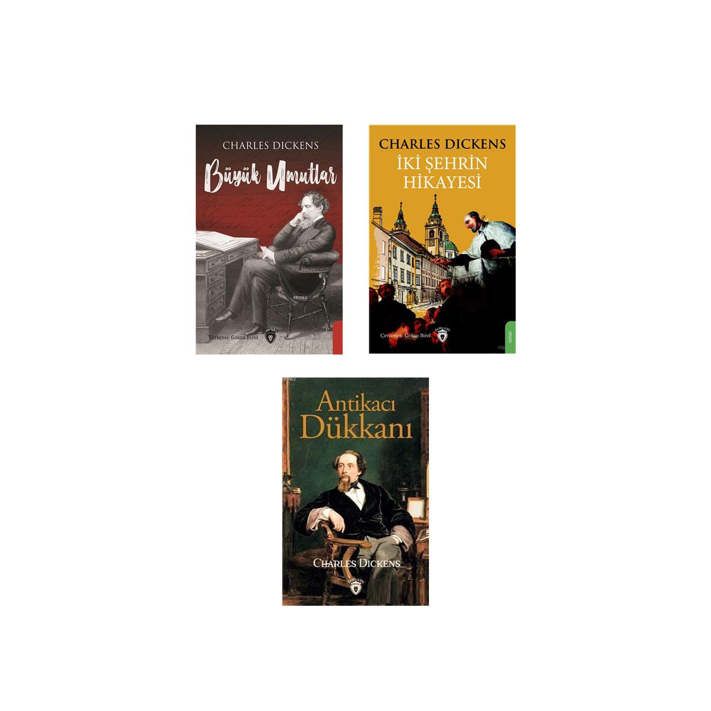 Charles Dickens Dünya Klasikleri Seti - 3 Kitap