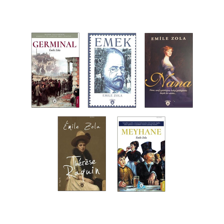 Emile Zola Dünya Klasikleri Seti - 5 Kitap