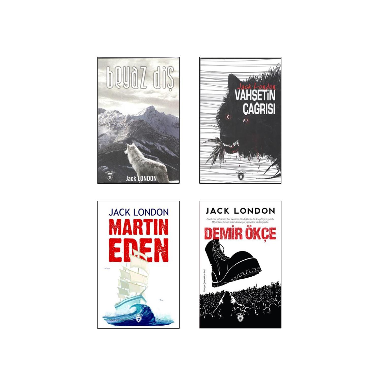 Jack London Dünya Klasikleri Seti - 4 Kitap