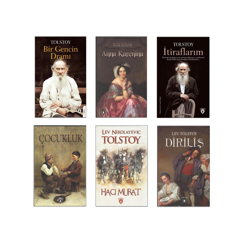 Tolstoy Dünya Klasikleri Seti - 6 Kitap