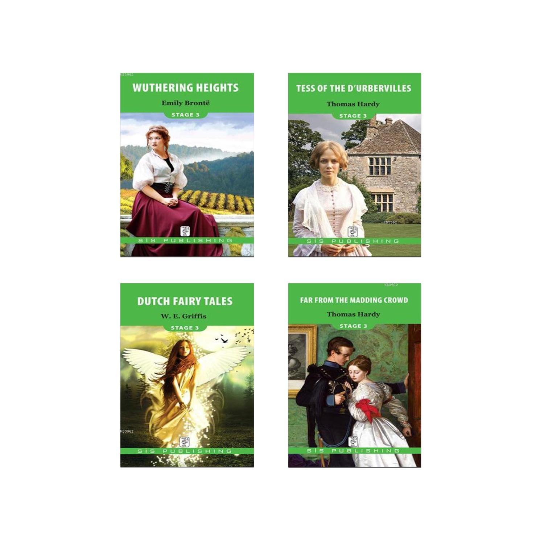 İngilizce Hikaye Seti Stage 3 - 4 Kitap