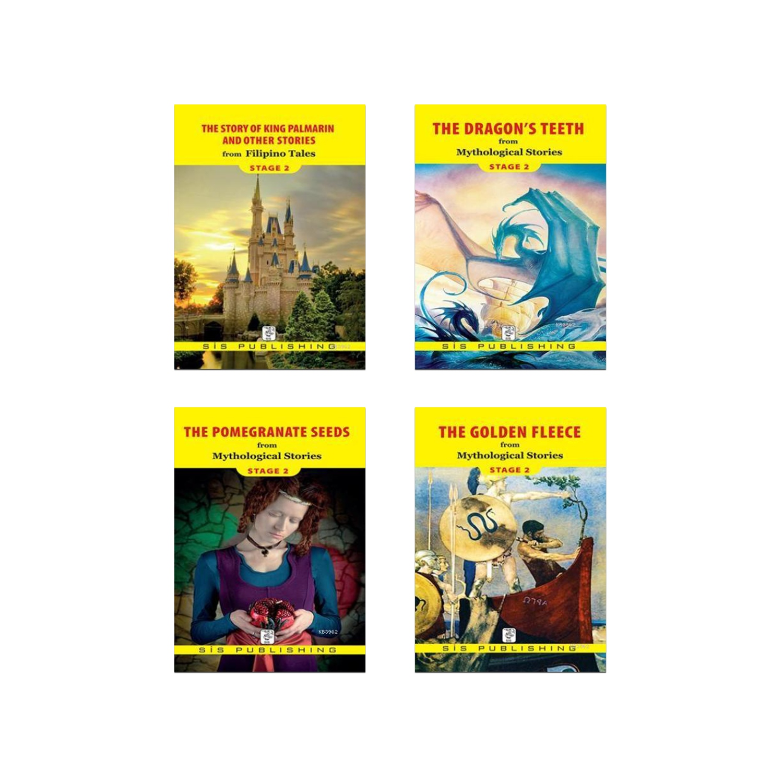 İngilizce Hikaye Seti Stage 2 - 4 Kitap