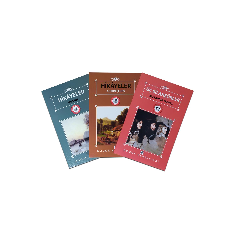 Çocuklar İçin Dünya Klasikleri Seti - 3 Kitap