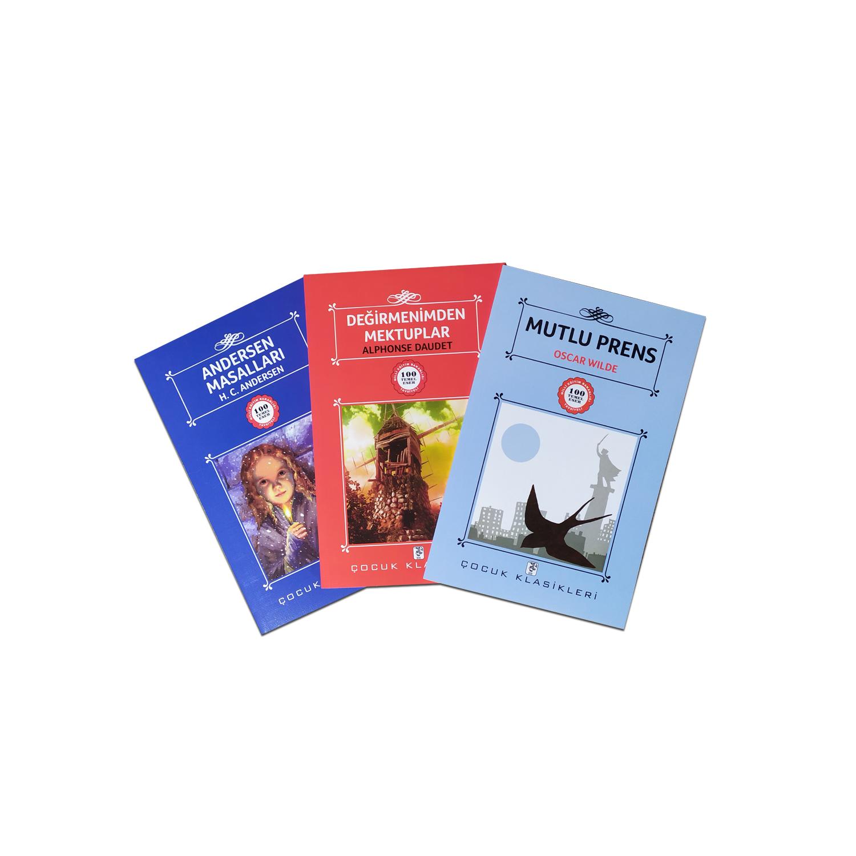 Çocuklar İçin Dünya Klasikleri Seti 3 - 3 Kitap