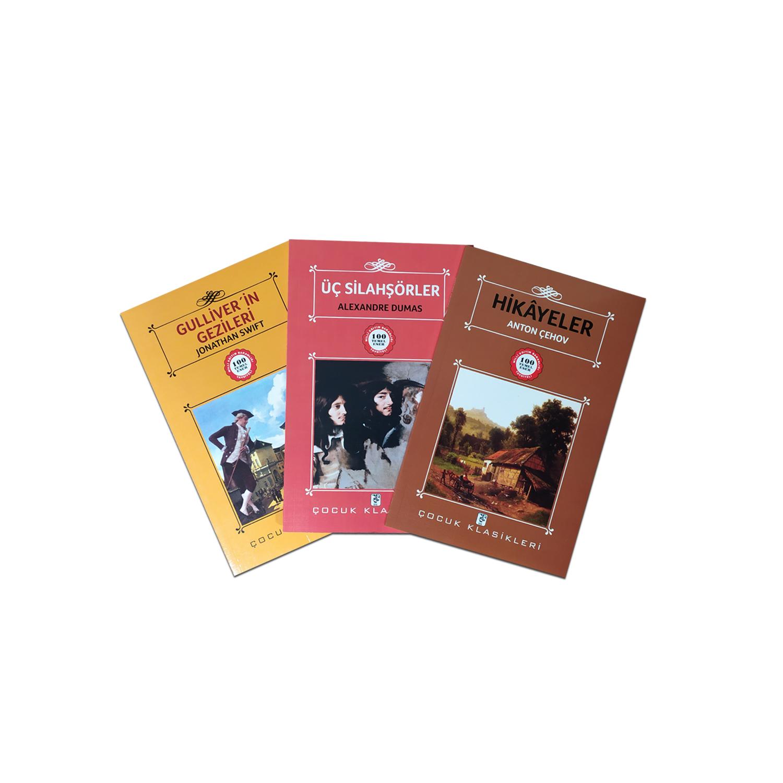 Çocuklar İçin Dünya Klasikleri Seti 6 - 3 Kitap