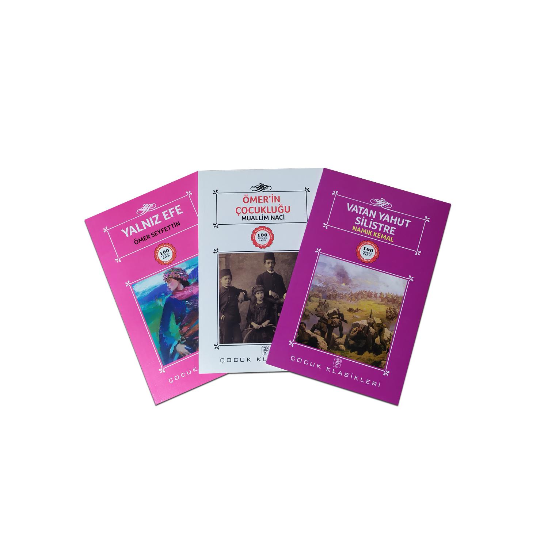 Çocuklar İçin Türk Klasikleri Seti - 3 Kitap