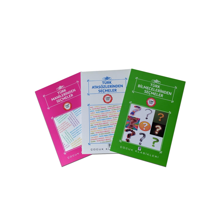 Çocuklar İçin Türk Klasikleri Seti 3 - 3 Kitap