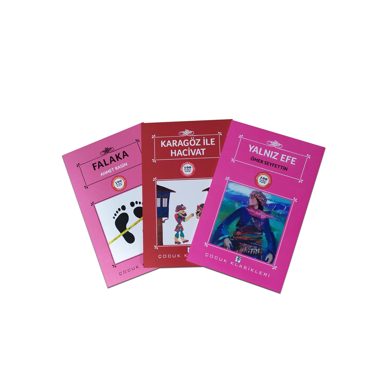 Çocuklar İçin Türk Klasikleri Seti 4 - 3 Kitap