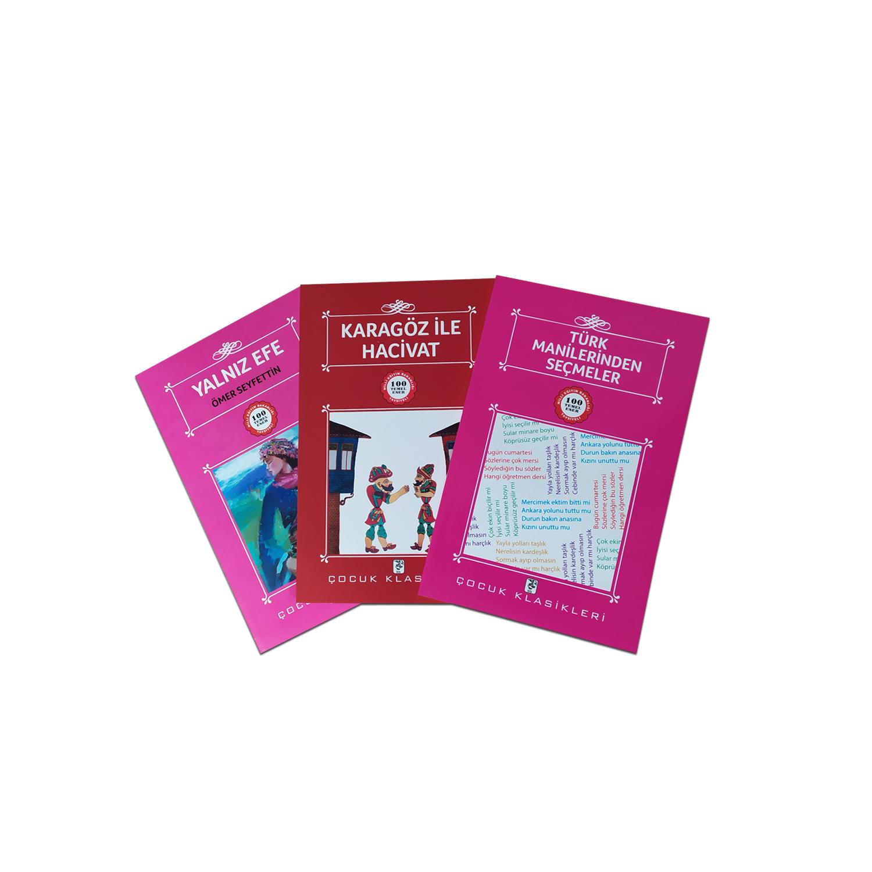Çocuklar İçin Türk Klasikleri Seti 5 - 3 Kitap