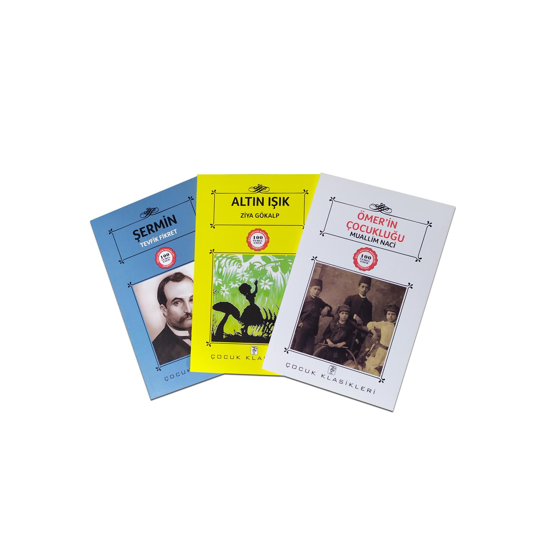 Çocuklar İçin Türk Klasikleri Seti 6 - 3 Kitap