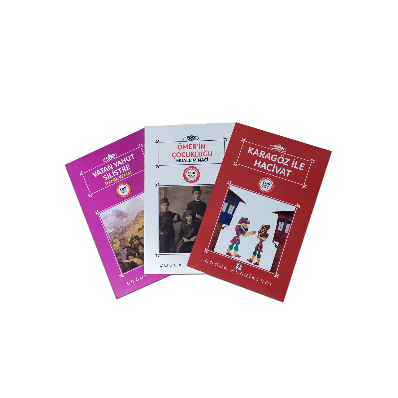 Çocuklar İçin Türk Klasikleri Seti 7 - 3 Kitap