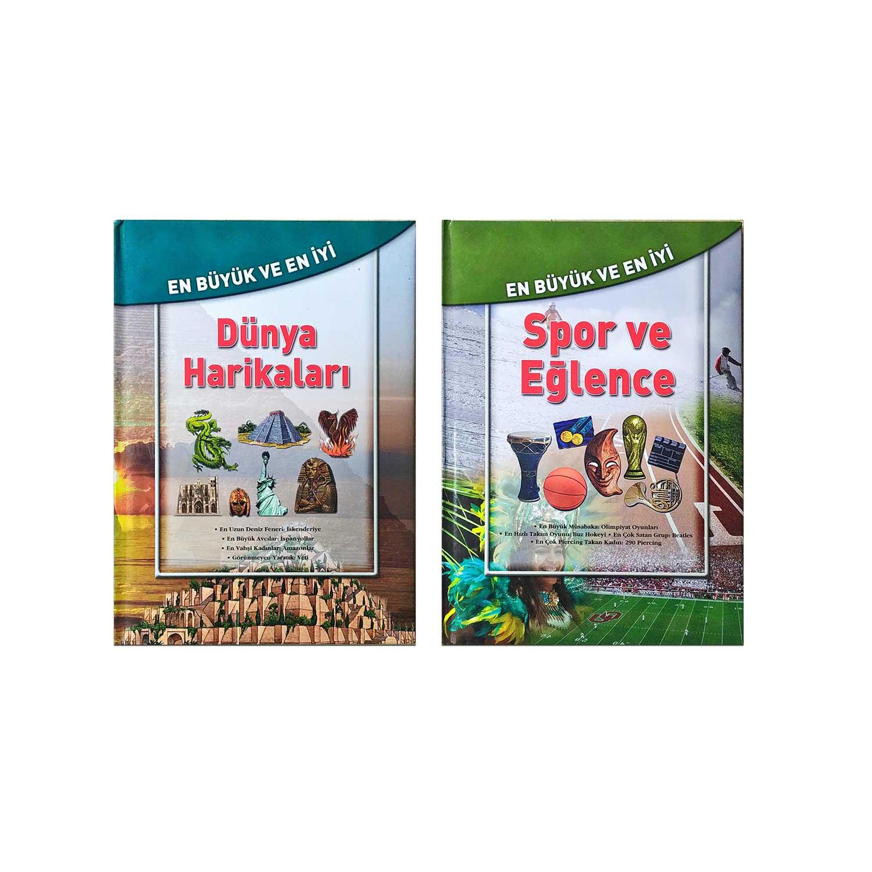 En Büyük En İyi Kitaplar Seti 4 - 2 Kitap