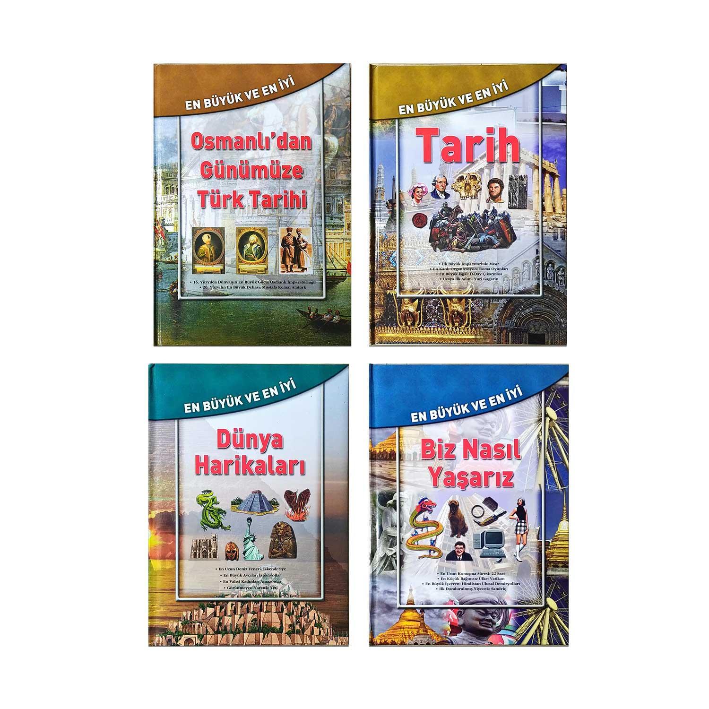 En Büyük En İyi Kitaplar Seti 2 - 4 Kitap