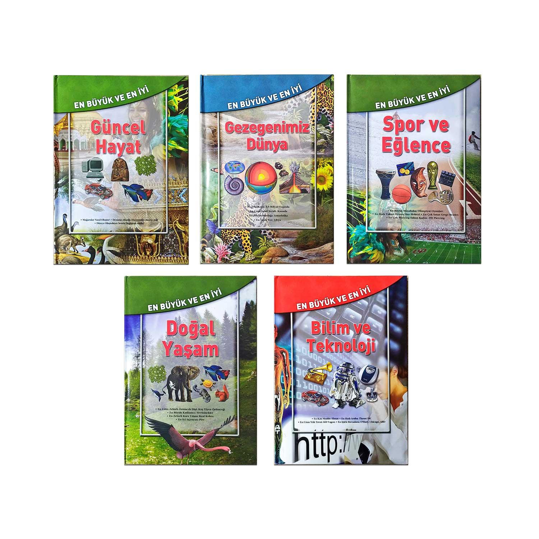 En Büyük En İyi Kitaplar Seti 2 - 5 Kitap