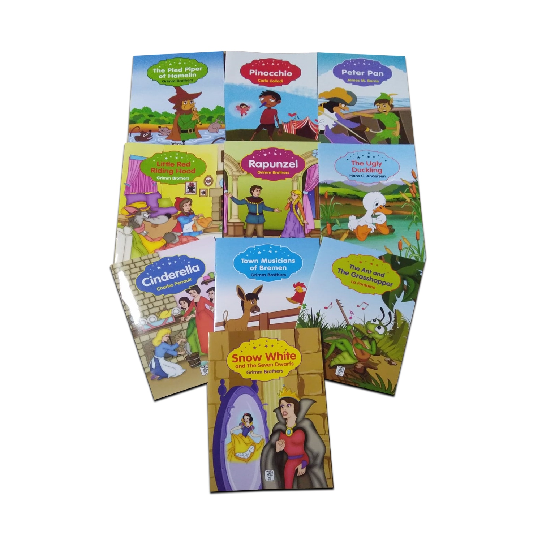 İngilizce Renkli Dünya Çocuk Masalları Seti 10 Kitap