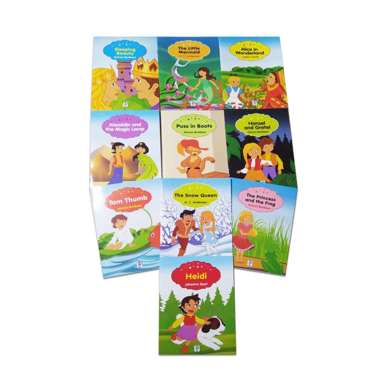 İngilizce Renkli Dünya Çocuk Masalları Seti 2 (10 Kitap)