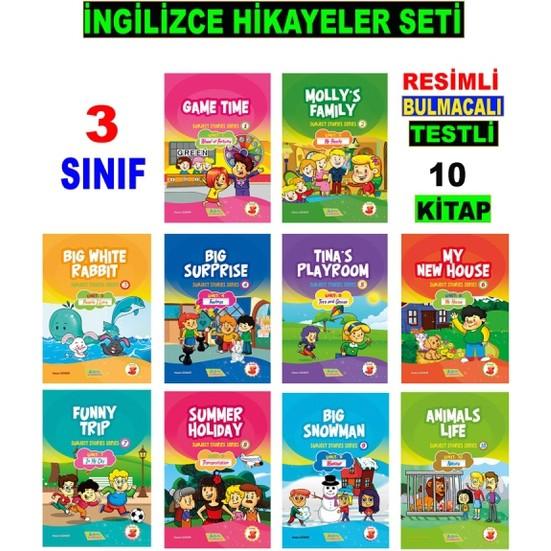 Akılyolu Publishing 3. Sınıf İngilizce Hikayeler Seti (10 Kitap) - Hasan Güneri