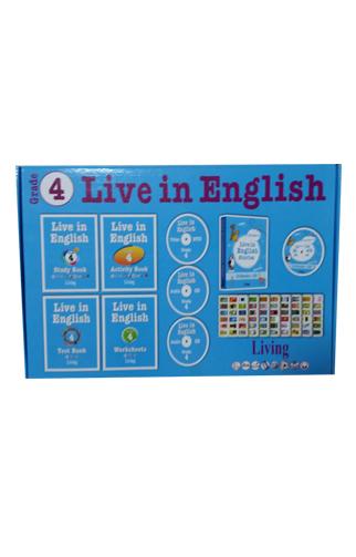 Live in English Grade 4 İngilizce Eğitim Seti