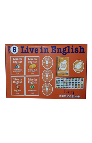 Live in English Grade 5 İngilizce Eğitim Seti